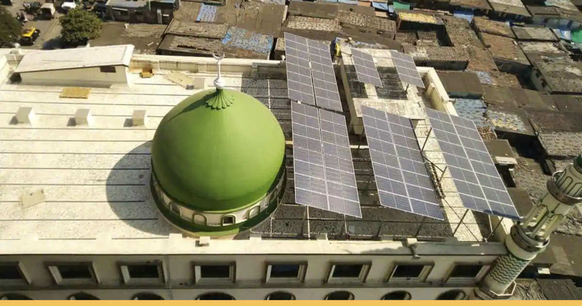 Noorani Masjid Becomes the Eighth Mosque to Go Solar in Mumbai