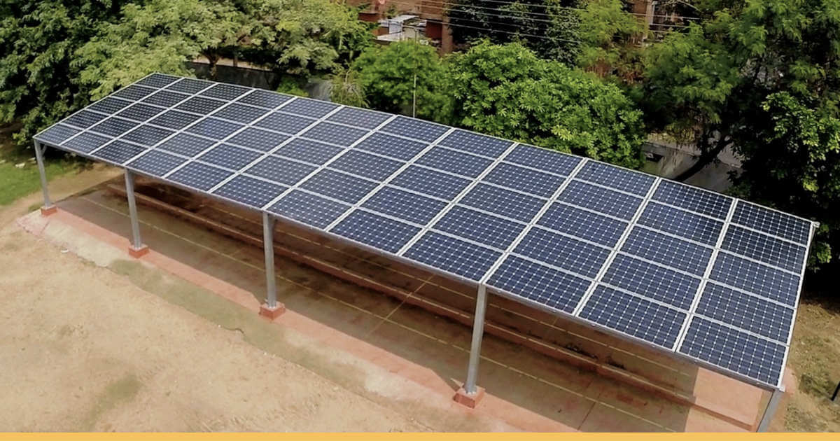 Solar Cycle Stands: Chandigarh's 'jugaad' Solar Enterprise